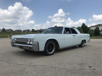 63 Lincoln Continental - Aug 2018